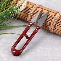 Ножницы для обрезки ниток, 12,5 см, цвет МИКС (комплект из 12 шт.)