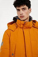 Полупальто мужское Finn Flare, цвет желтая охра, размер 2XL
