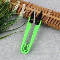 Ножницы для обрезки ниток, 13 см, цвет МИКС (комплект из 12 шт.)