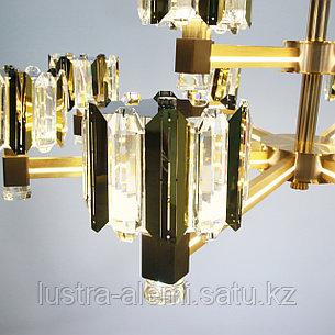 Люстра ЛЭД 9668/8+4 LED New-Classic, фото 2