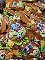 """Шоколадные фигурки """"Зайчики"""" разные вид 12гр /штучно/"""