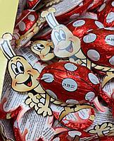 """Шоколадные фигурки """"слоники, тигр, божья коровка, овечка""""  в ассортименте 12гр /штучно/, фото 1"""