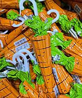 """Шоколадные фигурки """"зонтик, морковка""""  в ассортименте 12гр /штучно/"""