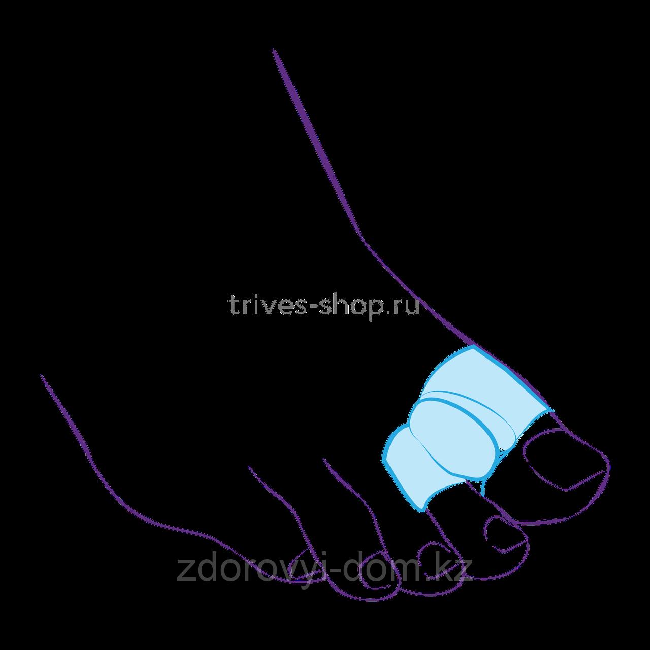 Межпальцевая перегородка с кольцами на 1-й и 2-й пальцы СТ-54.2