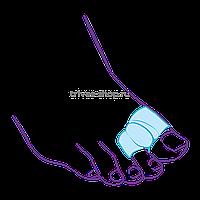 Межпальцевая перегородка с кольцами на 1-й и 2-й пальцы СТ-54.2, фото 1