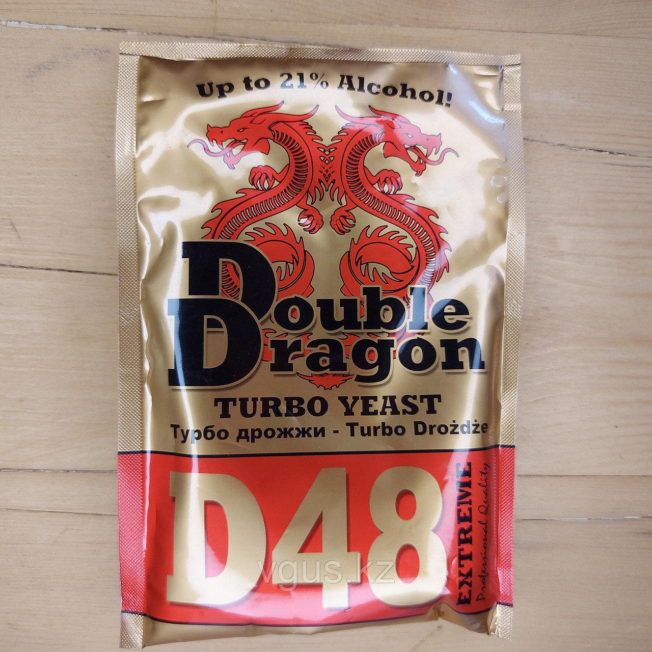 Дрожжи Double Dragon D48 Turbo yeast 130гр.