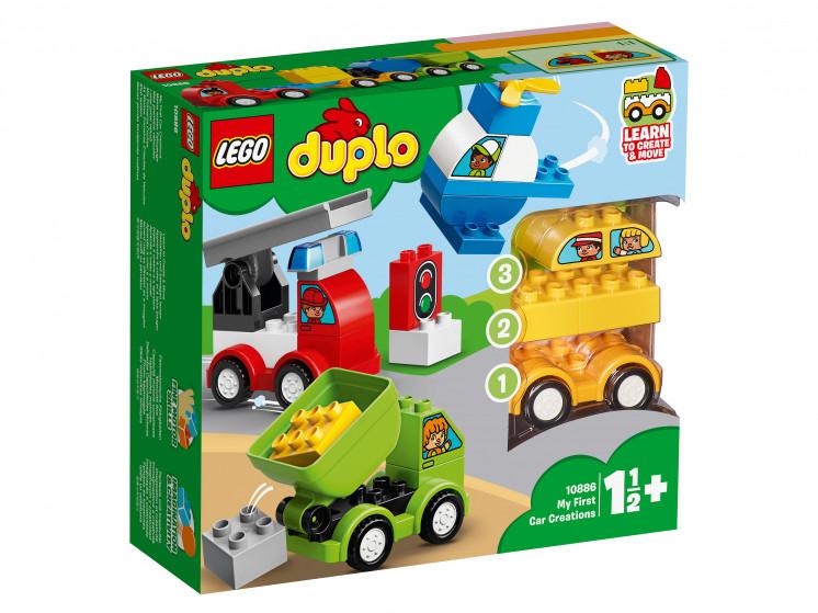 10886 Lego Duplo Мои первые машинки, Лего Дупло