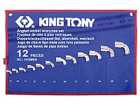 Набор торцевых Г-образных ключей 12 пр KING TONY 1912MRN