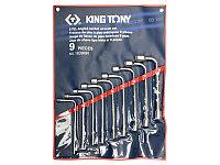 Набор торцевых Г-образных ключей 9 пр KING TONY 1839MR
