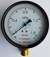 Манометры МП 100М - 1,6 МПа