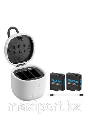 Набор Telesin из 2 батарей+ З/У для Gopro Hero 7/6/5, фото 2