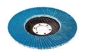 Круг лепестковый торцевой циркониевый, 125х22,2мм TOROS TOOLS