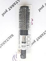Расческа брашинг для волос черная 38 мм