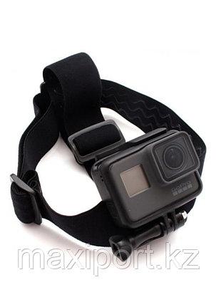 Крепление на голову Telesin для Gopro Hero 9/8/7/6/5 и других экшн-камер, фото 2