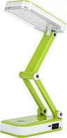 Светильник св/д аккумуляторный настольный 4Вт зеленый Smartbuy