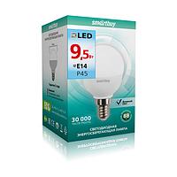 Лампа св/д Р45 9,5Вт 4000К E14 Smartbuy