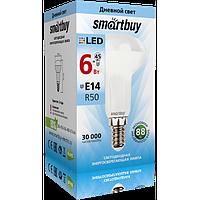 Лампа св/д R50 6Вт, 4000К, E14 Smartbuy