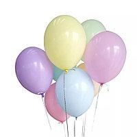 Воздушные шары латексные шар инсайдер 10 дюймов 100 шт/упаковка YuHang Happy Ballons разноцветные