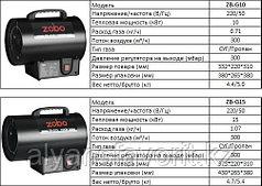 Magnetta, ZB-G15, Газовый нагреватель, 15 кВт