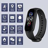 Умный браслет здоровья M5 Pro. Давления, пульс, кислород в крови, шаги, часы., фото 5