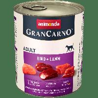 Консервы GranCarno Original Adult с говядиной и ягненком