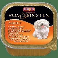 Консервы Vom Feinsten Adult с мясом домашней птицы и телятиной для взрослых собак