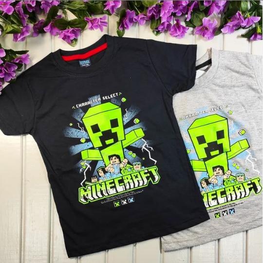 Футболки Minecraft