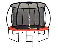 Батут GLOBAL 305 см с внутренней сеткой и лестницей