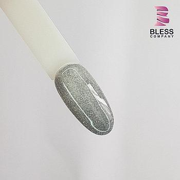 Светоотражающий гель-лак 10ml .Серебро