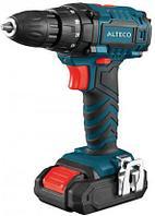 Аккумуляторная дрель-шуруповерт ALTECO CD 2110 Li X2