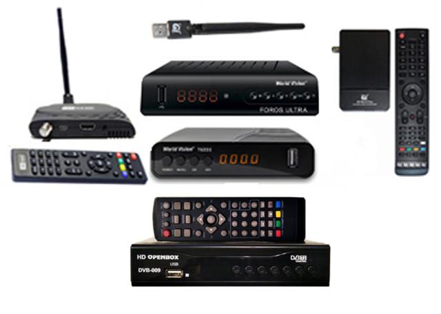 Ресиверы спутникового ТВ