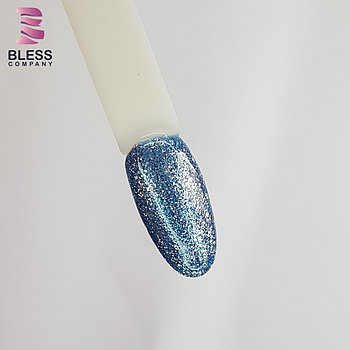 Светоотражающий гель-лак 10ml .Голубой