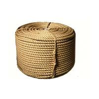 Веревка джутовая, L 100 м, крученая, D 10 мм