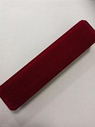 Футляр красный под колье или браслет
