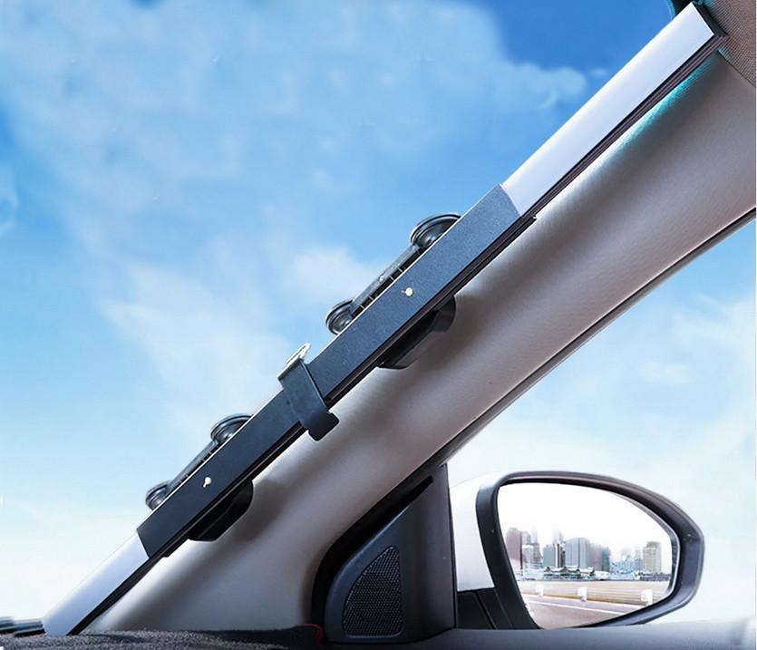 Солнцезащитная шторка Car upgraded version of telescopic sun block (Выдвижная, на присосках)