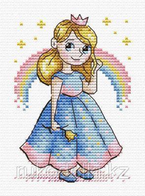 """Набор для вышивания крестом """"Принцесса"""""""