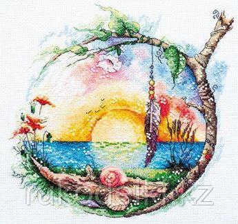 """Набор для вышивания крестом """"Солнечный рай"""""""
