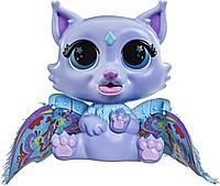 """FurReal Friends Интерактивная игрушка """"Крылатые милашки Котёнок Флиттер"""""""