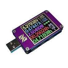 USB (USB type c) тестер yzxstudio ZY1280