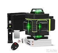 Лазерный уровень 4D 16 лучей + Штатив