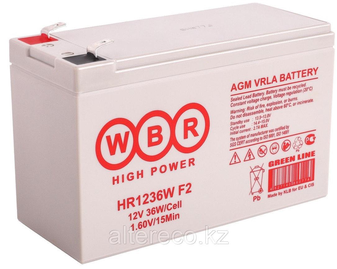 Аккумулятор WBR HR1236W (12В, 9Ач)