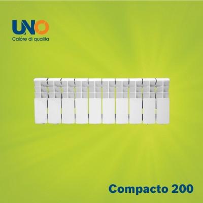 UNO-COMPACTO N 200/100 Алюминиевый радиатор