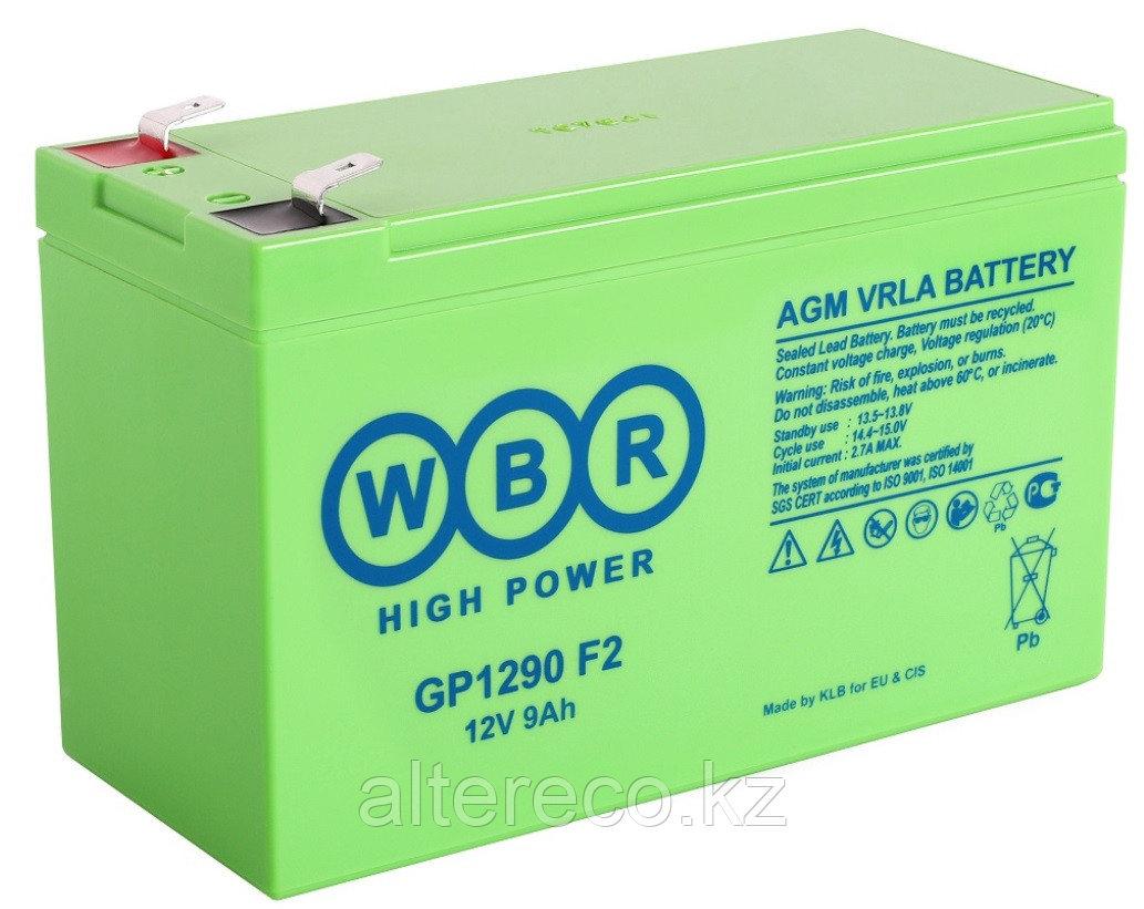 Аккумулятор WBR GP1290 (12В, 9Ач)