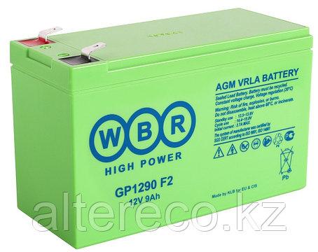 Аккумулятор WBR GP1290 (12В, 9Ач), фото 2