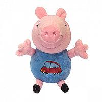"""Мяг.игр """"Джордж с машинкой"""" 18см т.м. Peppa Pig"""