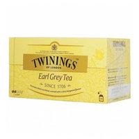 Twinings чай черный Эрл Грей, 25 пакетиков