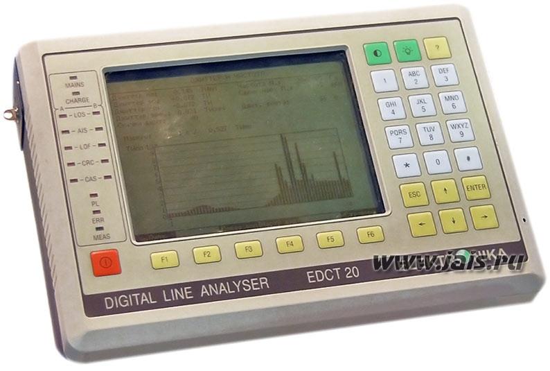 Elektronika EDCT 20 - анализатор цифровых каналов и сигнализации