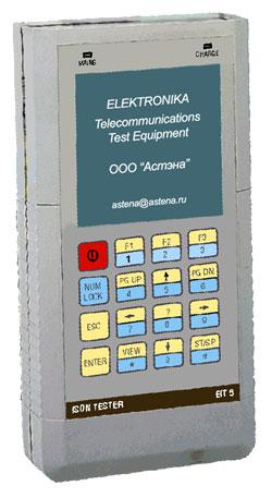 Тестер ISDN EIT5 Elektronika