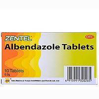 Таблетки от паразитов - Albendazole Tablets 10 таблеток