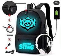Школьный рюкзак Brawl Stars(Бравл Старс), фото 1